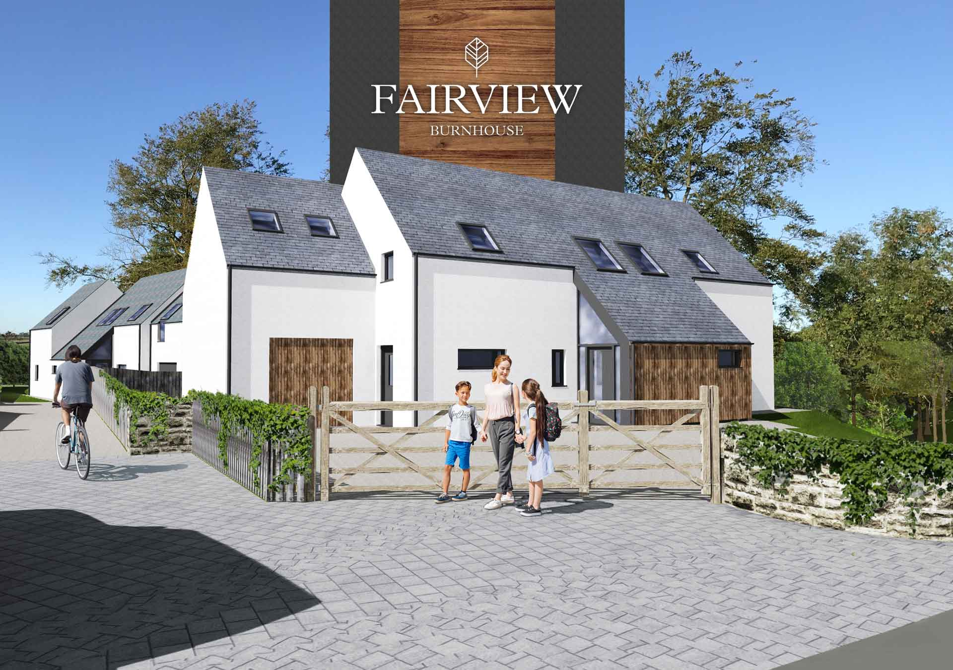 New Eco-homes in Ayrshire